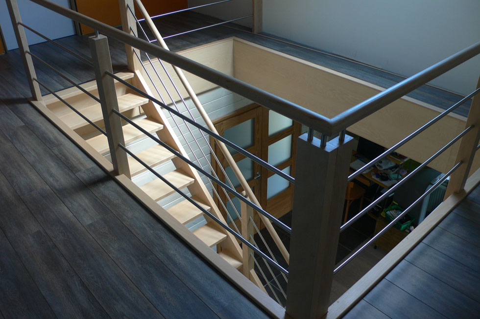 Trappen in beuk 9
