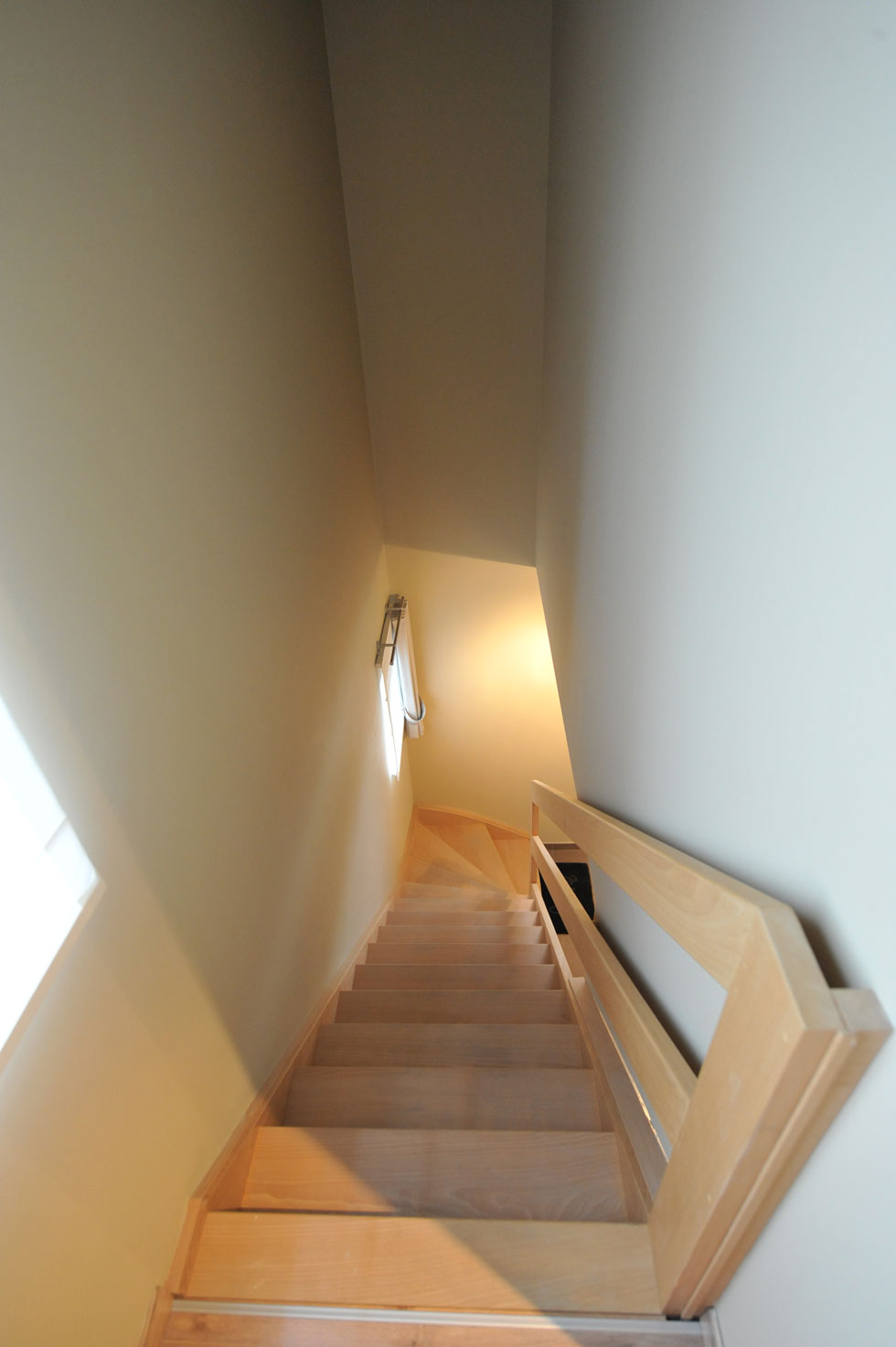 Trappen in beuk 12